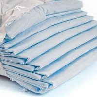 Packing of sheets it is isolated on a white background